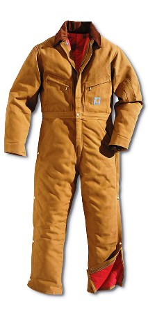 Carhartt X01 Men's Duck Coverall/Quilt-Lined #X01